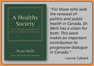 A Healthy Society book cover